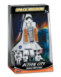 Action City 4 Piece Space Shuttle Set