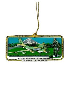 Vietnam Air War Veterans Memorial Ornament