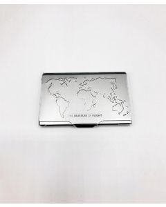 World Map The Museum of Flight Card Holder