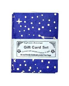 Handmade Constellation Gift Card Set