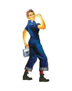 Rosie the Riveter Quotable Notables Card