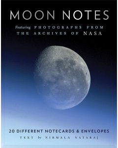 Moon Notes Nasa Photos Notecards