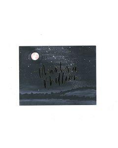 Thanks Starry Night Card