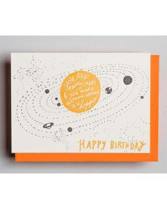 So Smart Sun Birthday Card