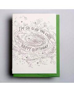 I'm So Glad You Exist Birthday Card