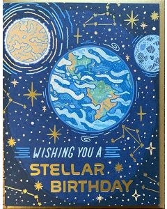 Wishing You A Stellar Birthday Card