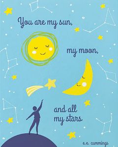 You Are My Sun, My Moon And All My Stars Card