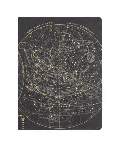 Astronomy Vintage Star Chart Softcover Notebook