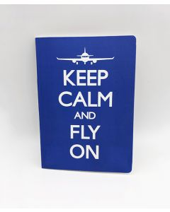 Keep Calm and Fly On Journal