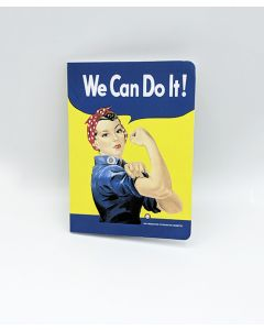 Rosie WE CAN DO IT! Soft Touch Journal