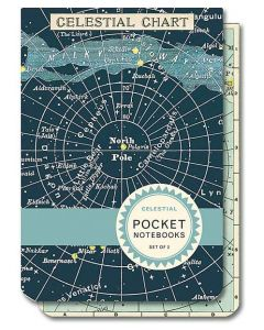 Celestial Chart Pocket Notebook Set