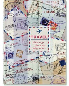 Travel Compact Foldover Journal