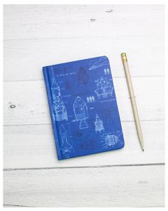 Rocketry Mini Hardcover Notebook