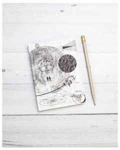 Moon Landing Mini Hardcover Notebook