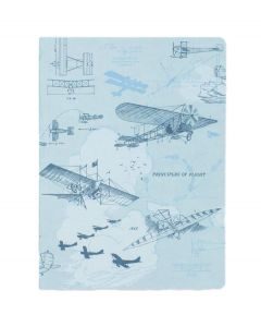 Aviation Early Flight Softcover Notebook
