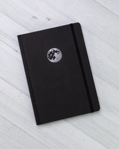 Moon Landing Minimal Hardcover Notebook