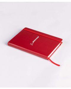 Red Boeing Logo Notebook