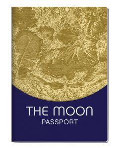 The Moon Passport Notebook