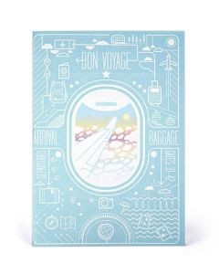 Airplane Window View Notebook Set