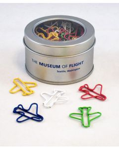 Museum of Flight Jet Airplane Paperclips