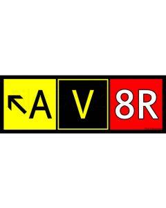AV8R Sticker