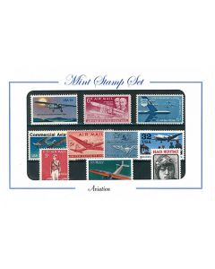 Aviation Stamp Set