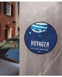 """Voyager 3"""" Round Sticker"""