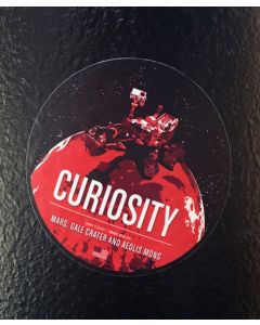 "3"" Round Curiosity Sticker"