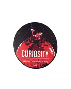 Curiosity Rover Sticker