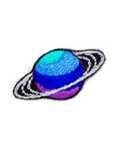 Saturn Embroidered Sticker Patch