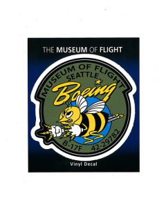 Boeing Bee Nose Art Sticker