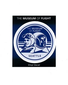 Aviator and Astronaut Sticker