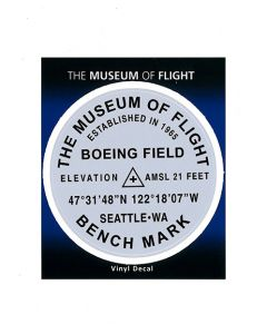 Museum of Flight Benchmark Sticker