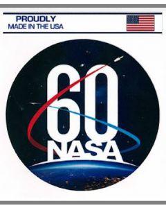 NASA 60th Anniversary Logo Sticker