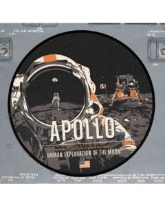 Apollo 11 Moon Landing Sticker