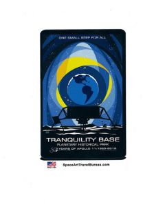 Tranquility Base Planetary Historical Park Sticker