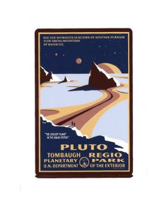 Pluto Tombaugh Regio Planetary Park Sticker