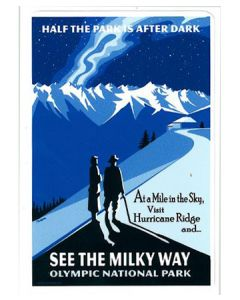 See the Milky Way Olympic Park Sticker