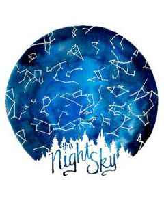 The Night Sky Sticker