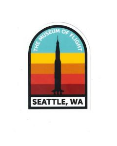 TMOF Saturn V Seattle WA Sticker