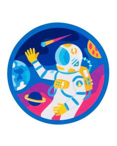 Outer Space Astronaut Sticker
