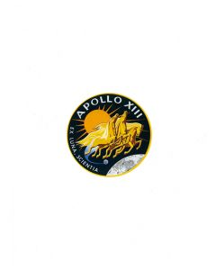Apollo 13 Insignia Sticker