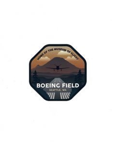 Boeing Field Home of the Museum of Flight Sticker