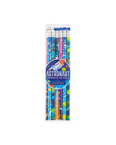 Astronaut Graphite Pencils Set of 12