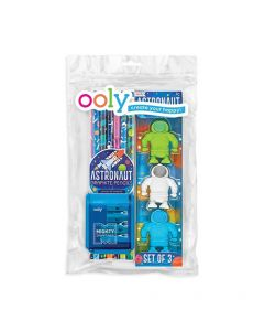 Astronaut Pencil and Erasers Pack