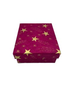 Medium Red Shooting Star Gift Box