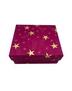Large Red Shooting Star Gift Box