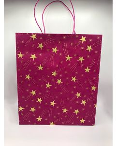 Red Large Shooting Star Gift Bag
