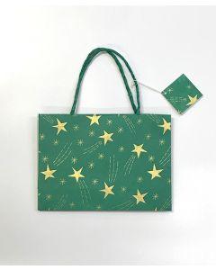 Green Small Shooting Star Gift Bag