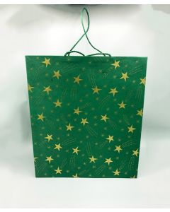 Green Large Shooting Star Gift Bag